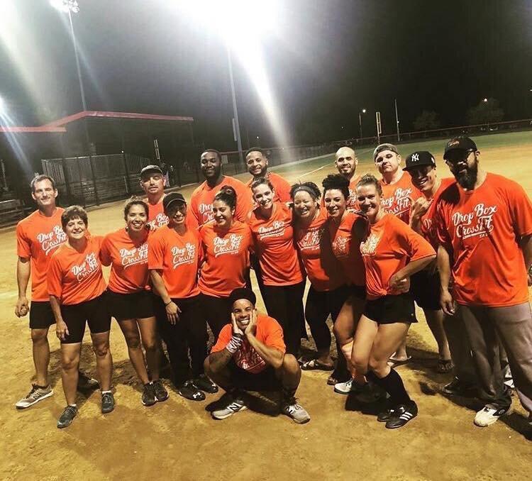 Shana w// the DBCF Softball Team! August 2018