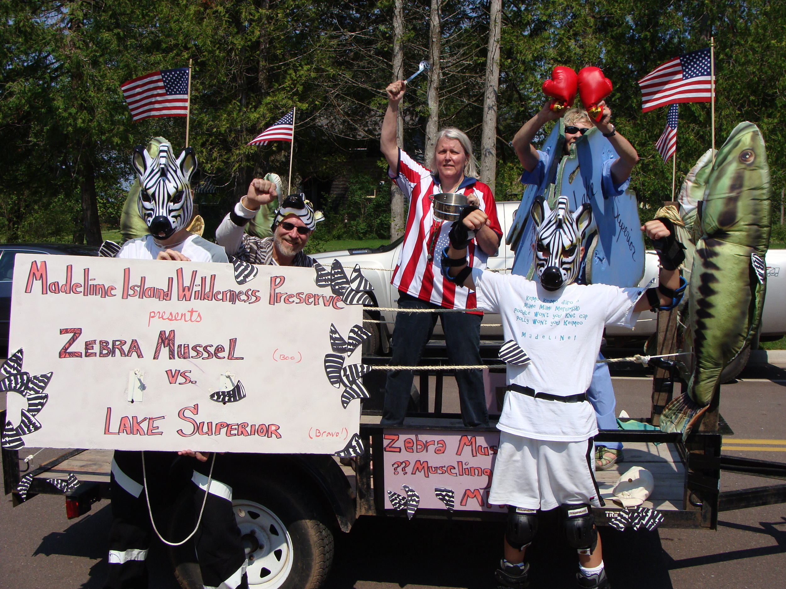 2012 Zebra Mussels Parade Entry