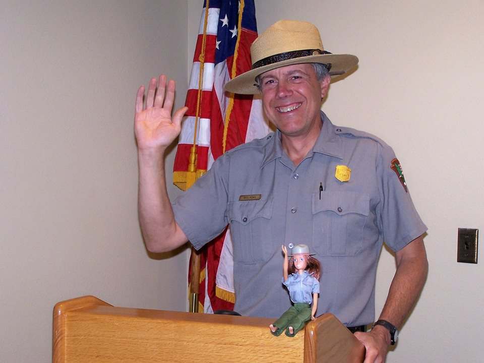 Neil Howk's last day with the National Park Service