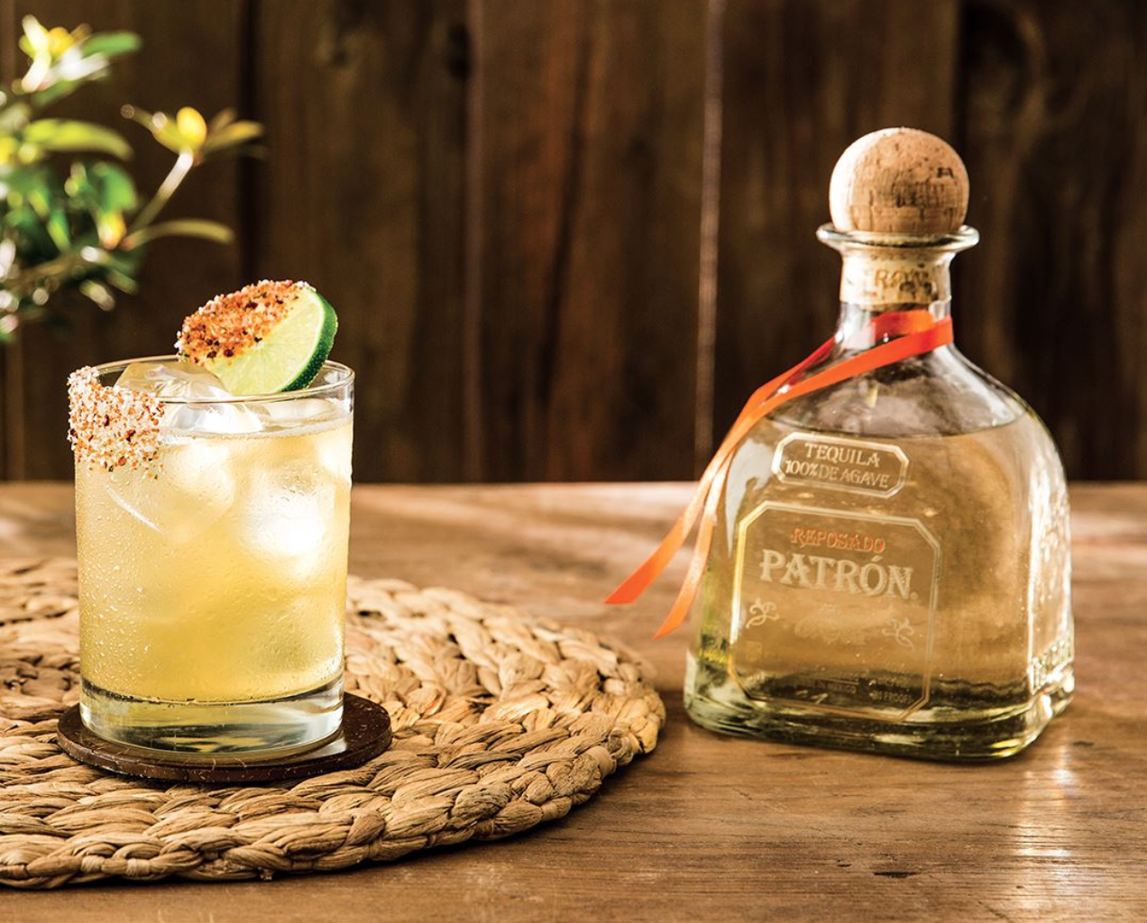 Patron Tequila cocktail marketing