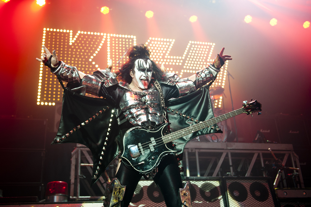 Kiss live in London