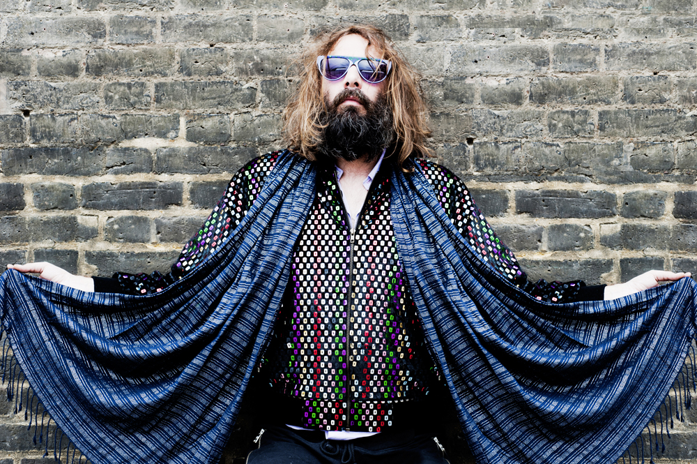Sebastien Tellier Portrait at Traction Festival London