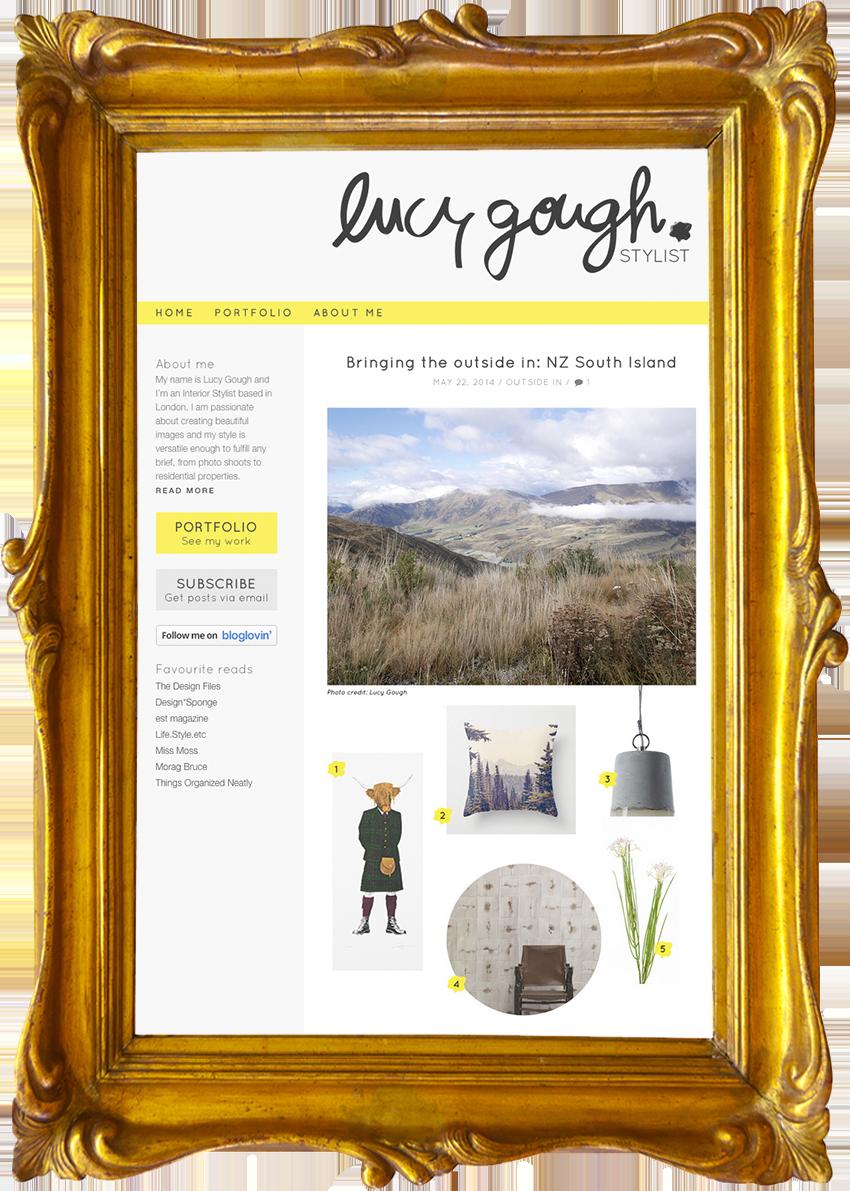 Lucy Gough  - Interior Stylist
