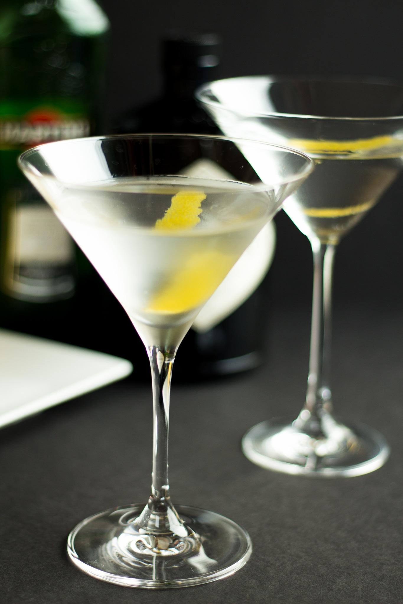 Perfect Gin Martini -