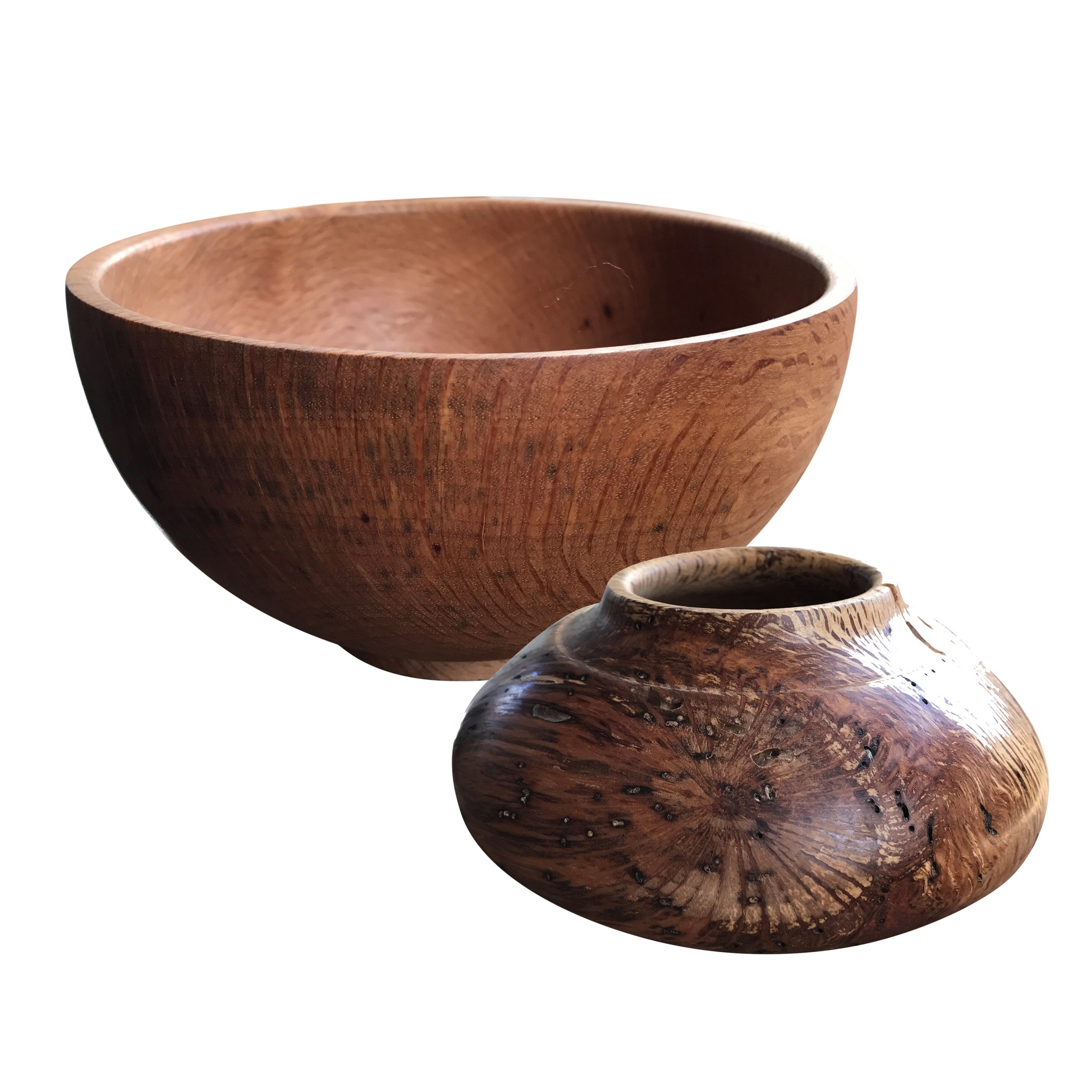 Terry Sharp Wood Bowls -