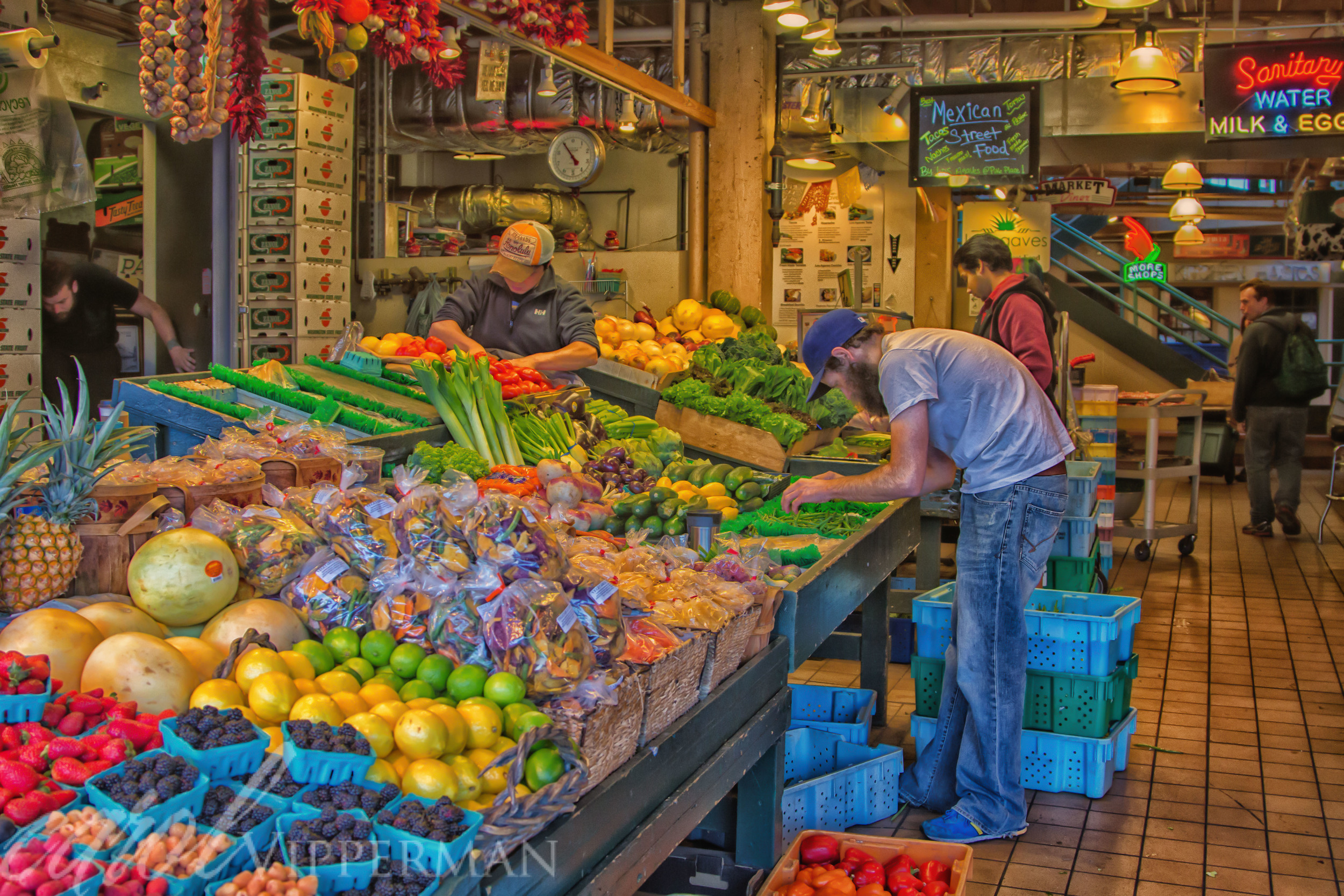 Working at the Market