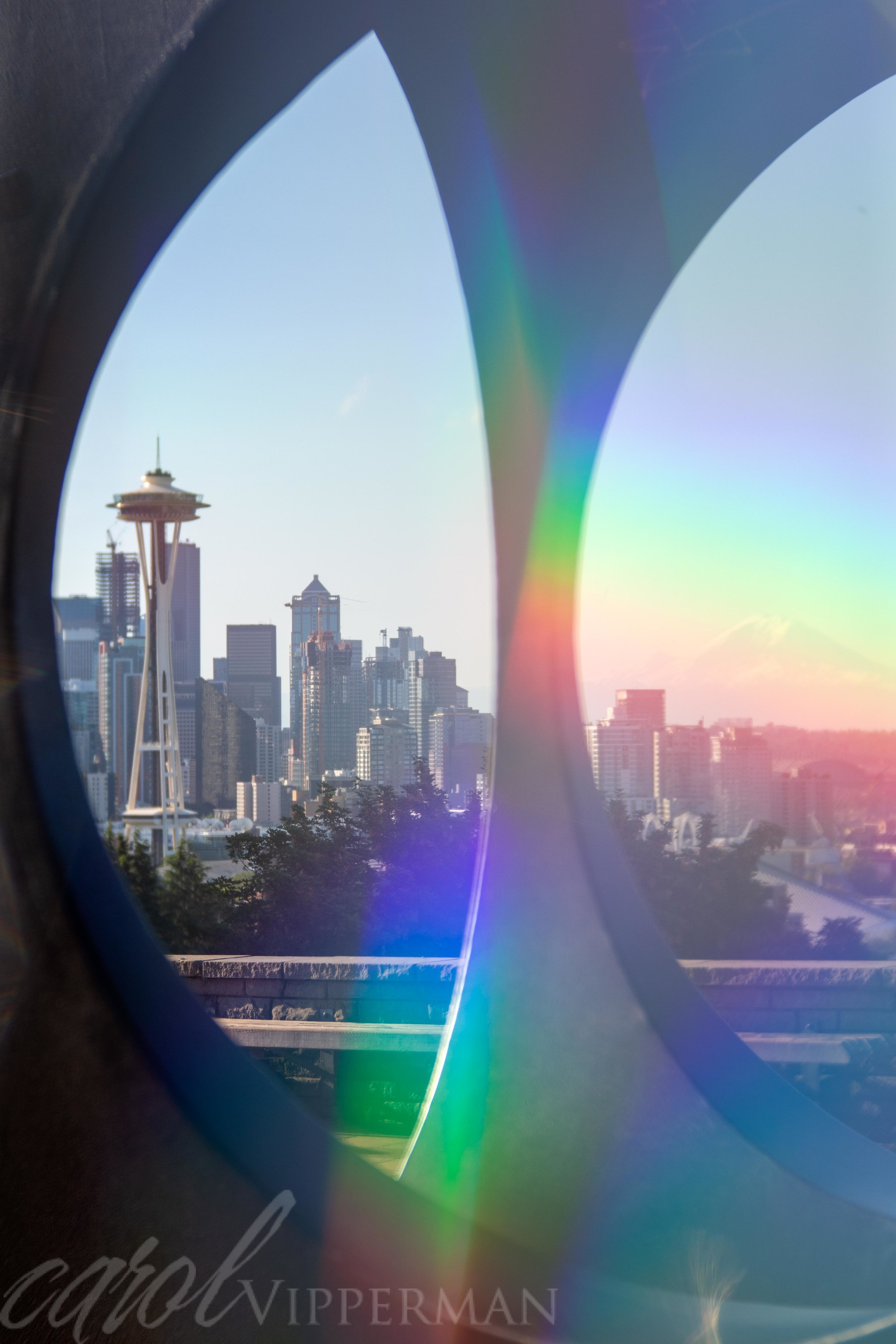 Rainbow film filter