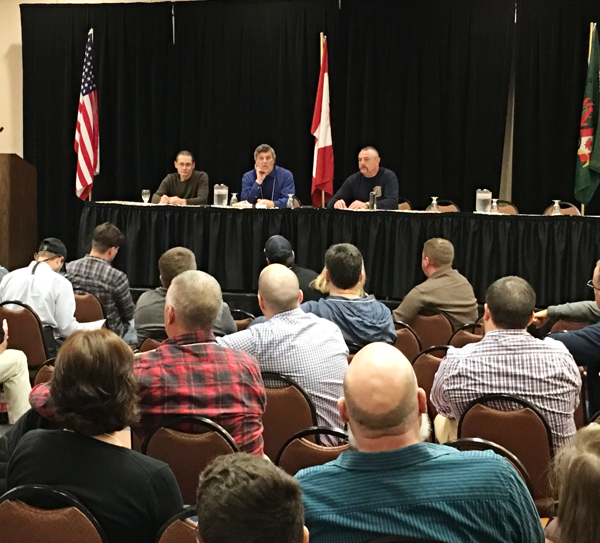 Panel on Gatlinburg/Appalachian 2016 fires with Dr. Steve Norman, Dr. Henri Grissino-Myers and Matt Lovitt.
