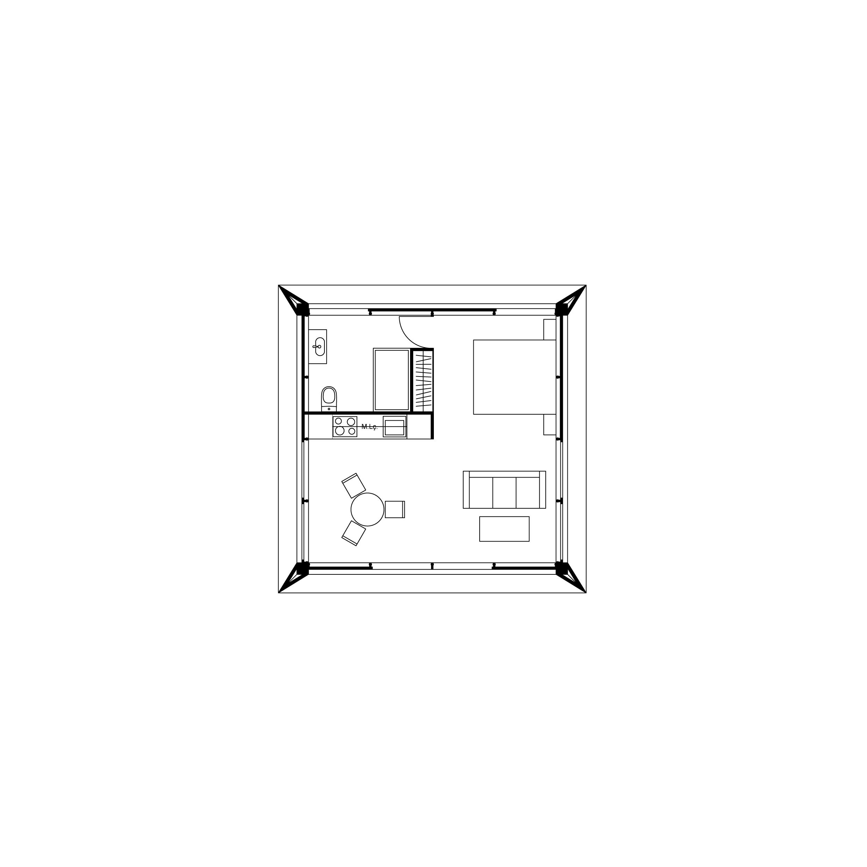 MIMA House Loft 1.0  Total Area 62m2