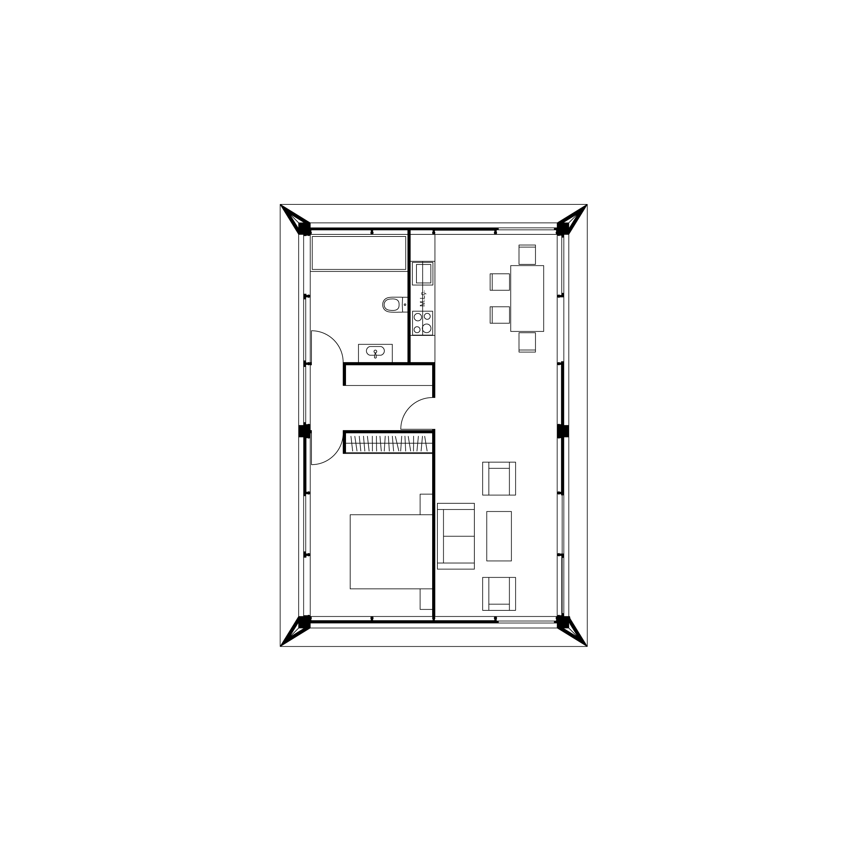 MIMA House 1.1  Total Area 81m2