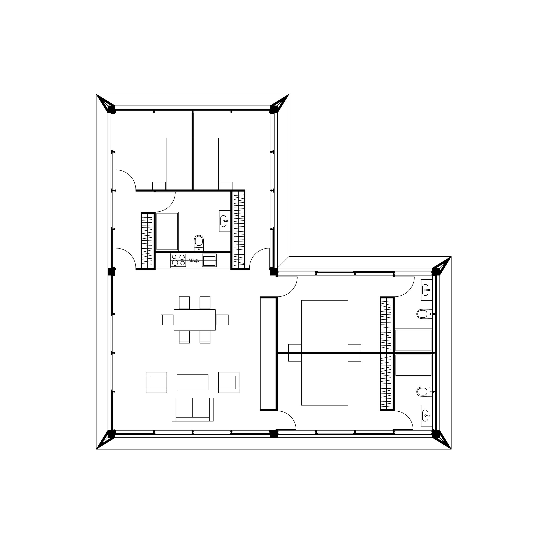 MIMA House 3.0  Total Area 151m2