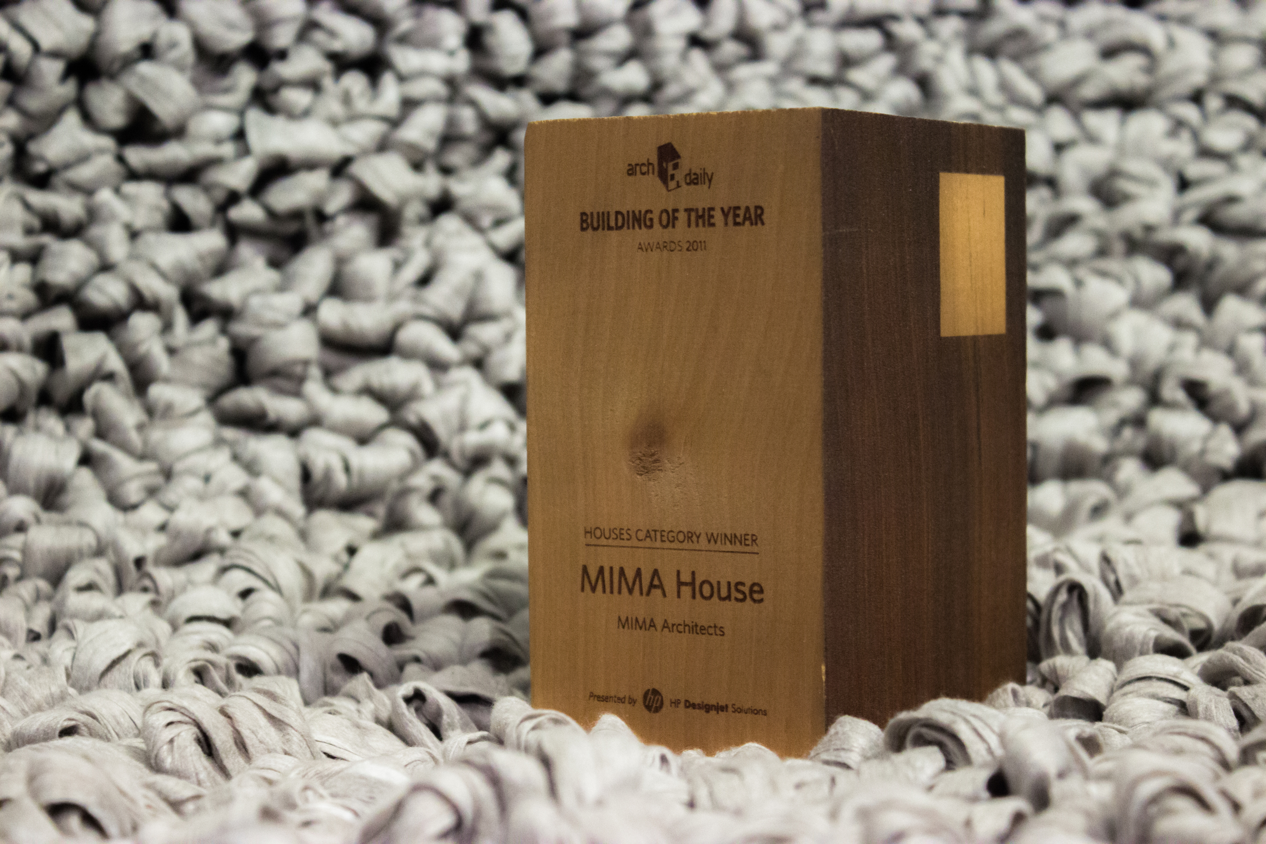MIMA House won Archdaily House of the Year 2011 Award. Check  here  .