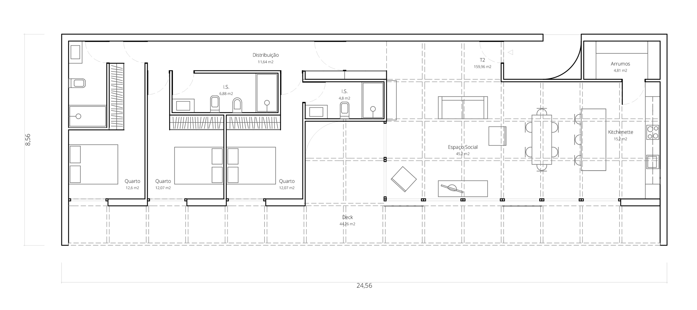 T3 - 159,96 m2