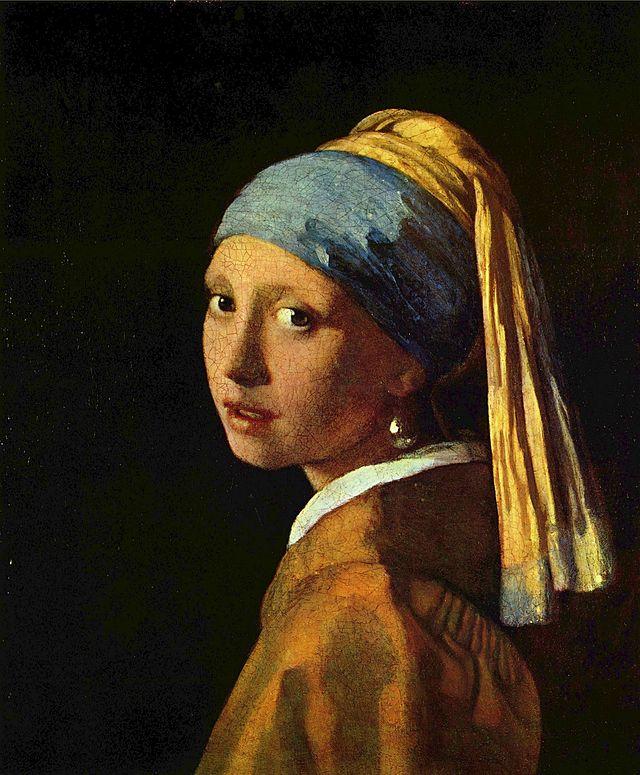 Το κορίτσι με το μαργαριταρένιο σκουλαρίκι του Ολλανδού ζωγράφου Johannes Vermeer. Τυπώστε αφίσες άφοβα, το έργο είναι πλέον στο public domain.