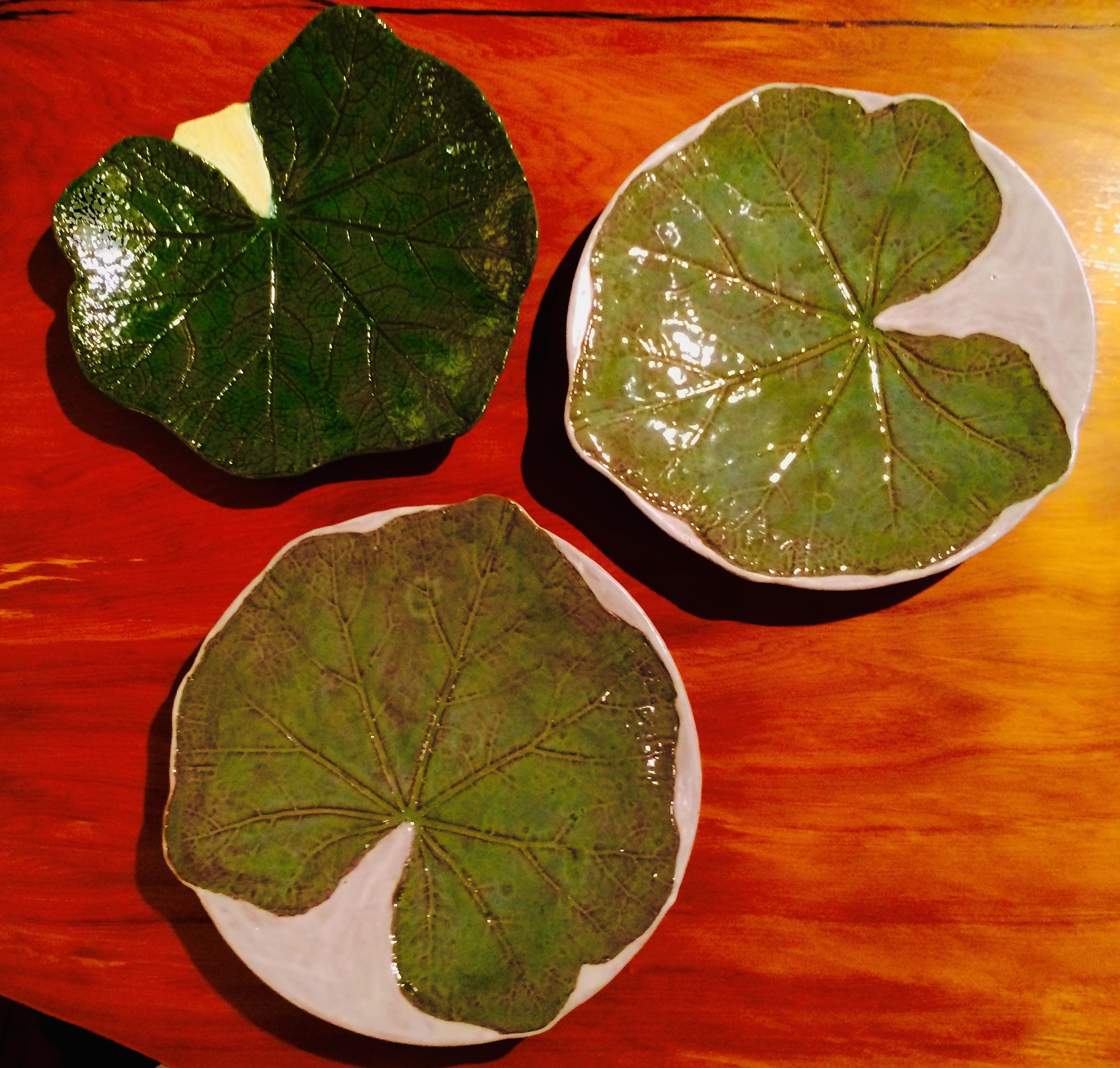Yardly Arts Leaf Plates