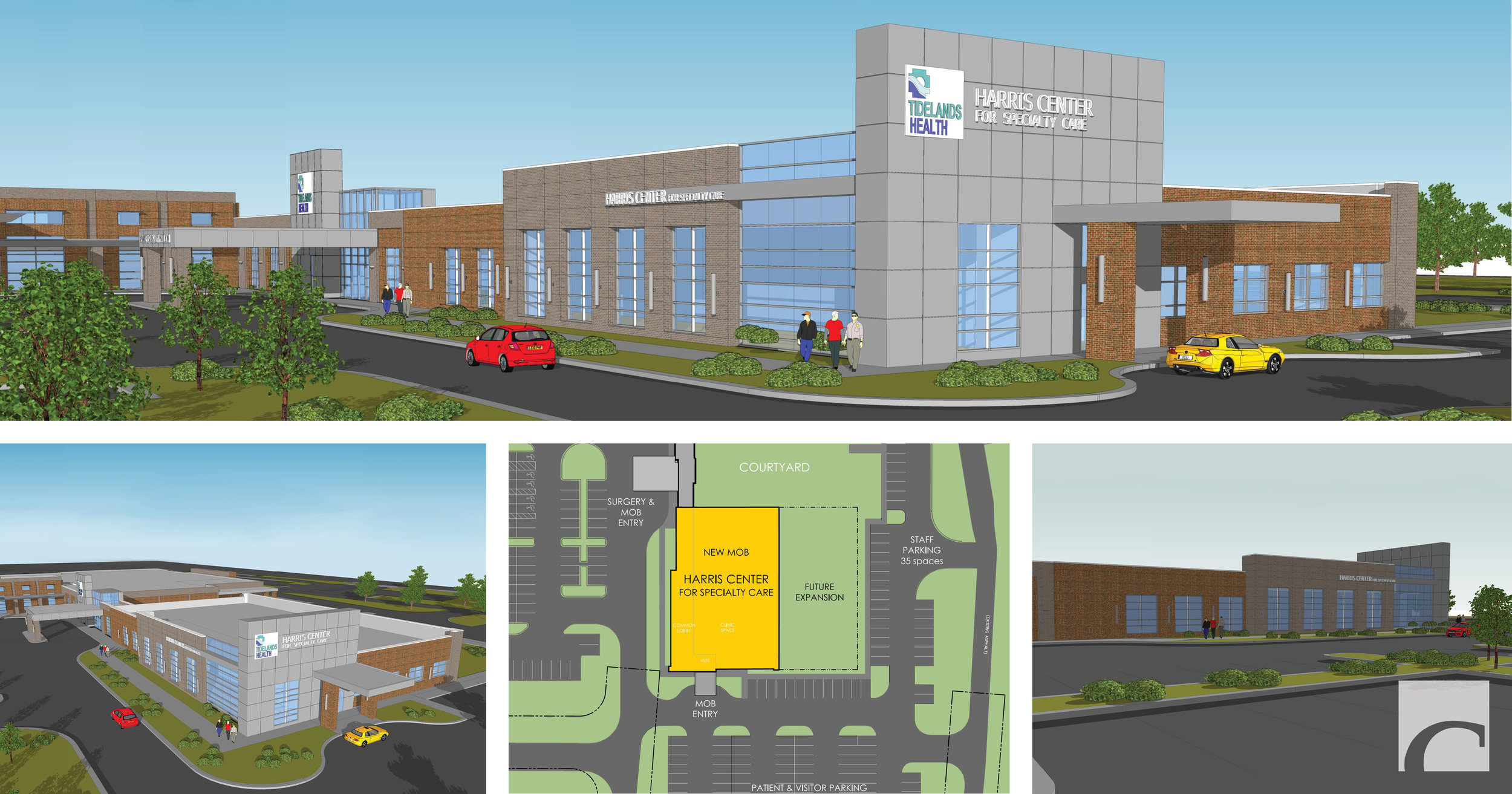 Harris Center for Specialty Care Renderings