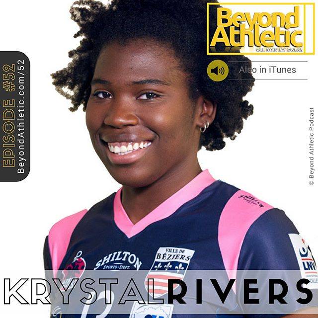 "Episode #52 From 'Never Going To Walk' To #1 Pro Scorer In France with Krystal Rivers  In this episode, we talk about @krysdenise 's hurdles from her birth defects, cancer battle, sport, education to aspirations. Check out the episode link on BeyondAthletic.com/52 or search for ""Beyond Athletic Podcast"" in @itunes 