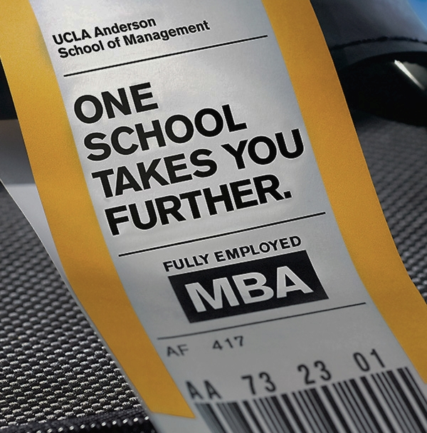UCLA ANDERSON SCHOOL OF MANAGEMENT -