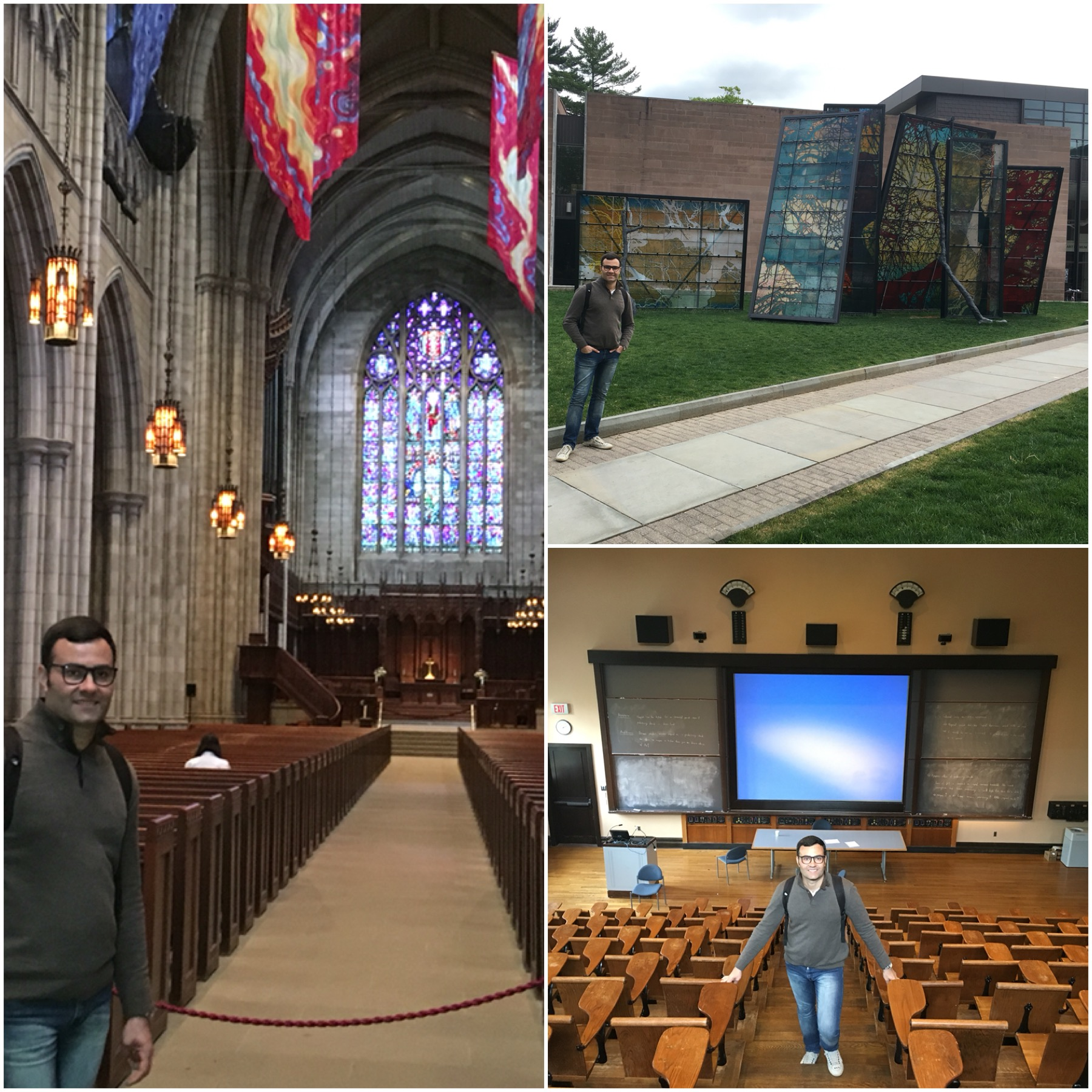 The Princeton Chapel, The Princeton University Art Museum (houses works by Warhol, Judd, Monet, and more!), a classroom where Albert Einstein used to teach!