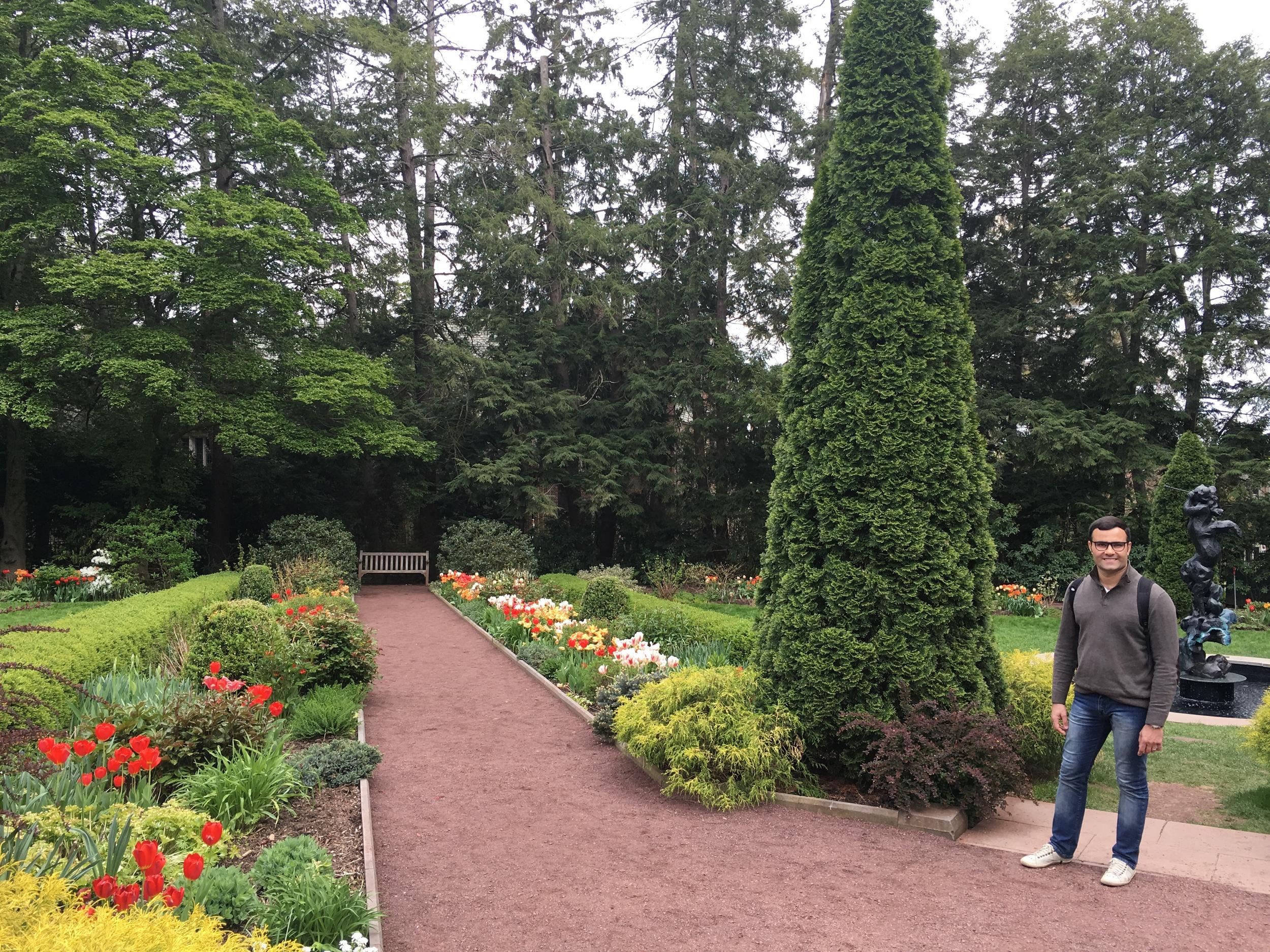 Prospect Garden, which was once President Woodrow Wilson's backyard.