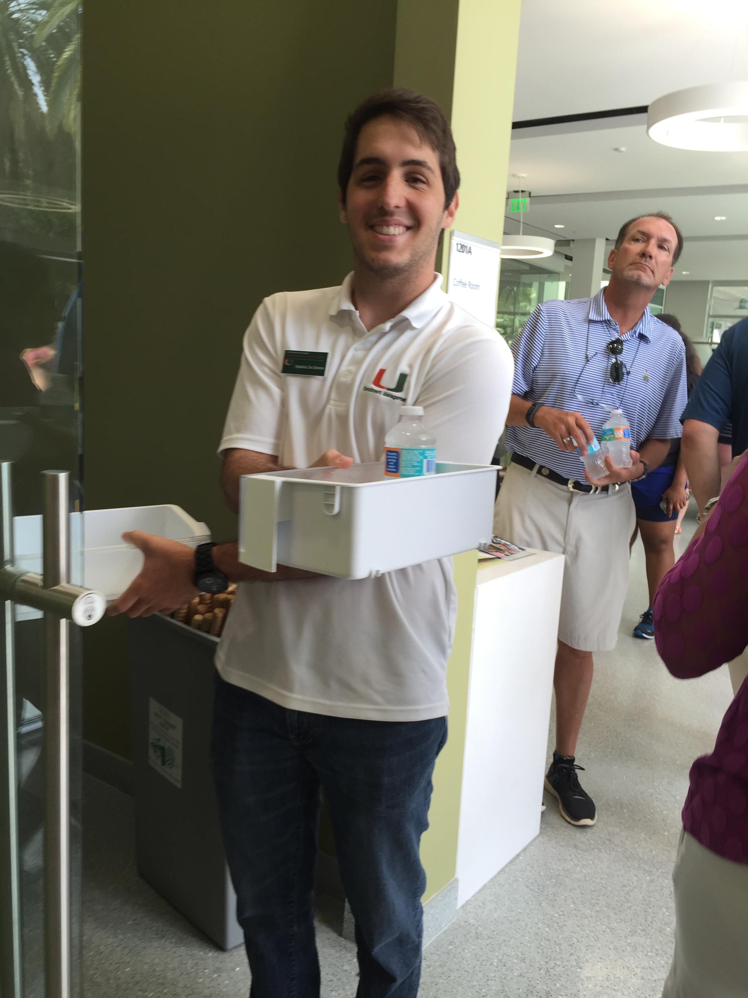 Murilo's tour guide, Alex Jimenez