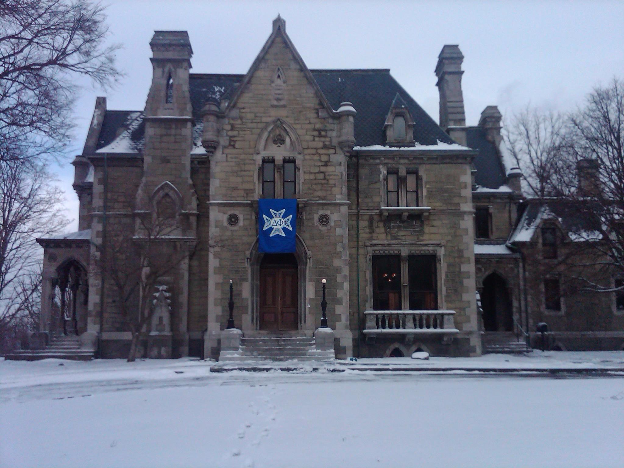Cornell University's Delta Phi Fraternity, Llenroc  (   Image   )