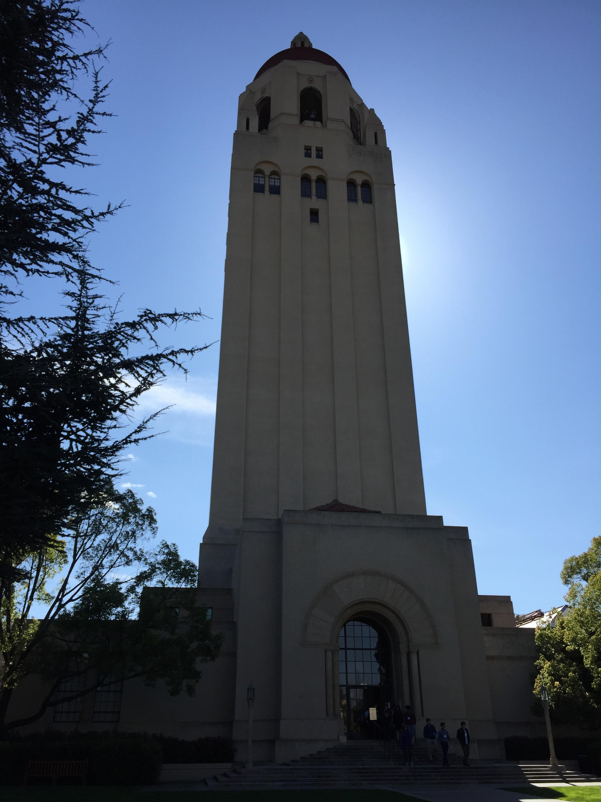 Iconic Hoover Institution Observation Platform