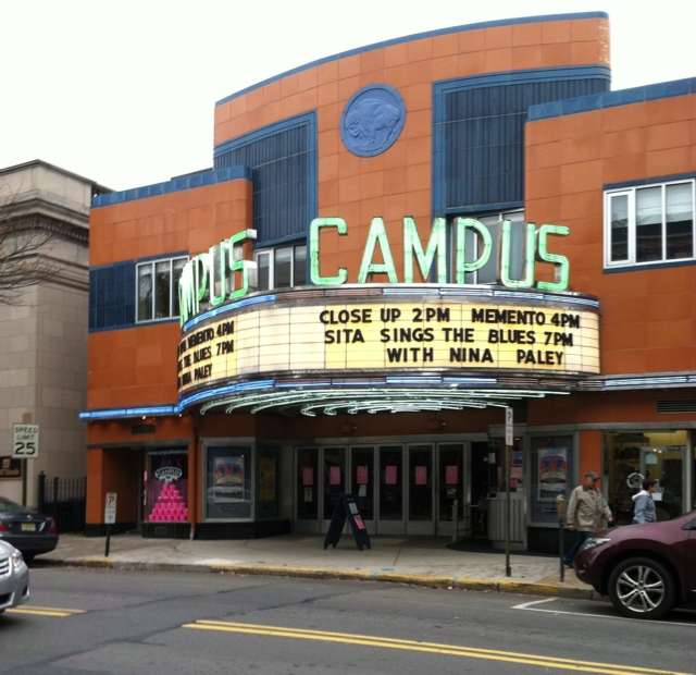 Campus Theater in downtown Lewisburg