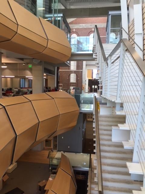 Inside of Sawyer Library.JPG