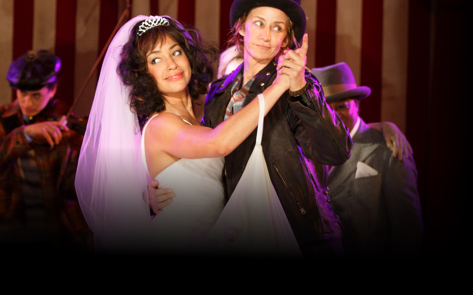 Cush Jumbo and Janet McTeer in Phylida Lloyd's 2016 Production at the Delacorte Theater in Central Park (   Photo courtesy of the Public Theater   )