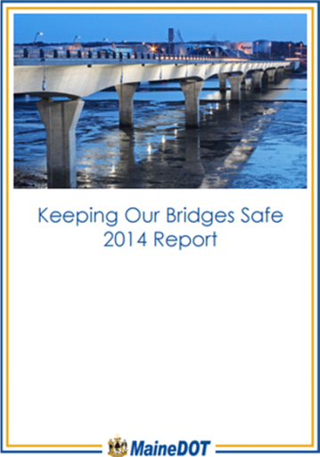 Bridge needs were computed using the Deighton asset management software (dTIMS), as per the 2014 Maine DOT KOBS report. Click on the image to view the report.