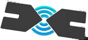 Illustratie korte lijnen met Wifi signaal