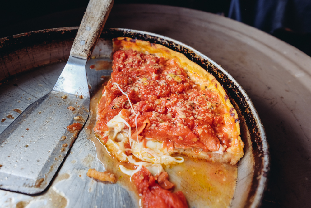 DeepDish Pizza @ Lou Malnati's
