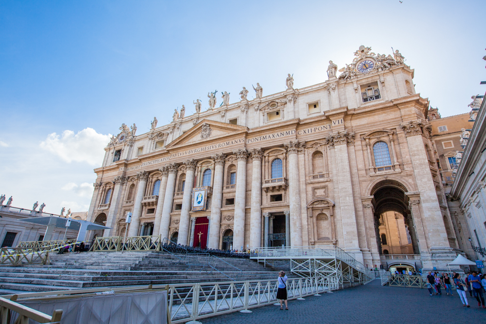 St. Peter's Basilica is an Italian Renaissance Church.  It is regarded as the greatest building of its time and one of the largest churches in the world.