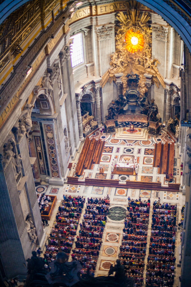 Mass in St. Peter's Basilica