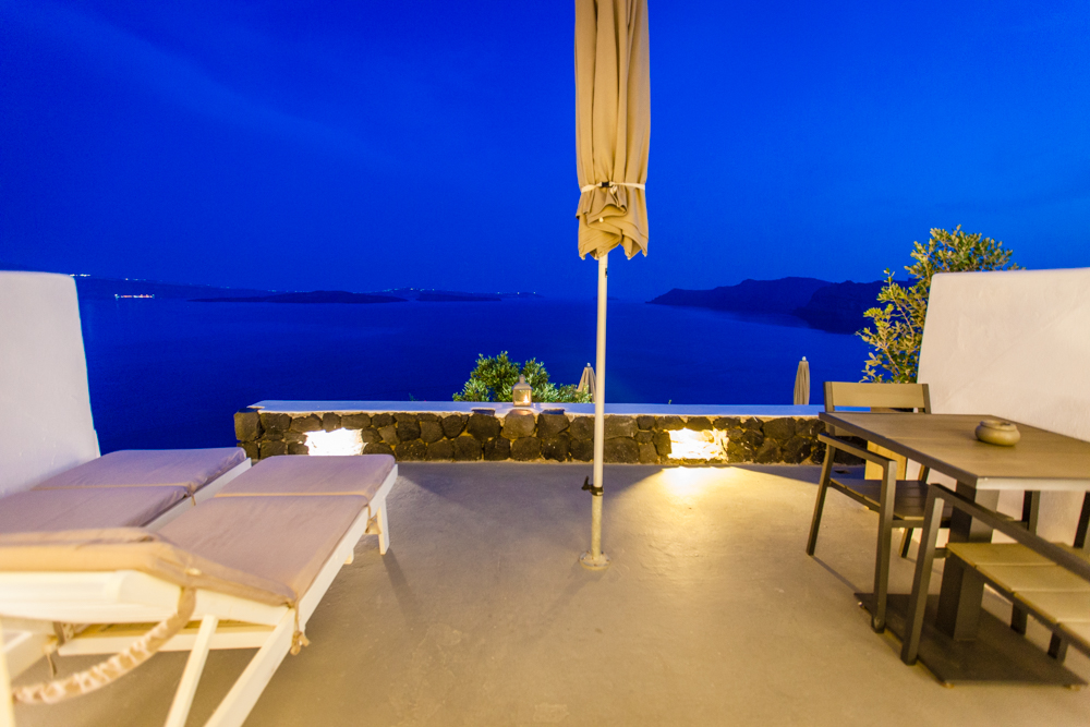 Our private balcony with another stunning view
