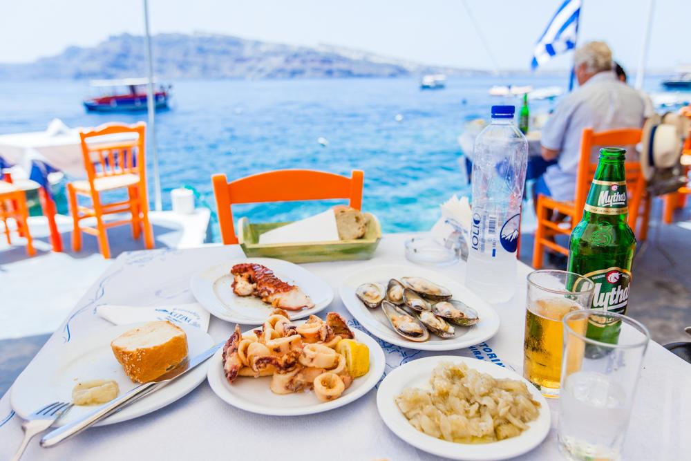 Katina's in Amoudi Bay