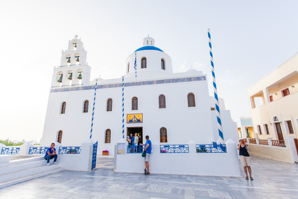 The Church of Panagia Platsani