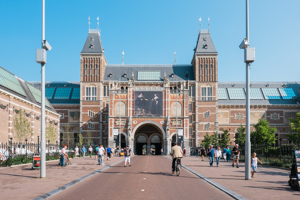 The Rijksmuseum; Dutch art and history from the middle ages to present day (includes artists such as Van Gogh and Rembrandt)