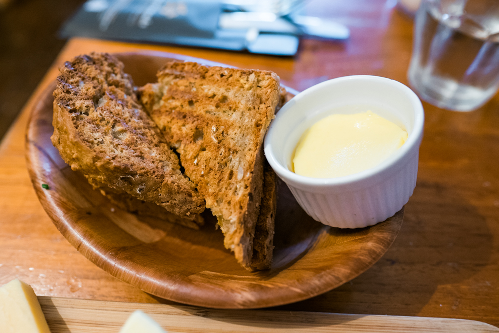 From our hotel, we walked to Greenwoods for breakfast. It is located in the oldest and first wine bar in Amsterdam (from the 1600's). This is their homemade soda bread, so good!