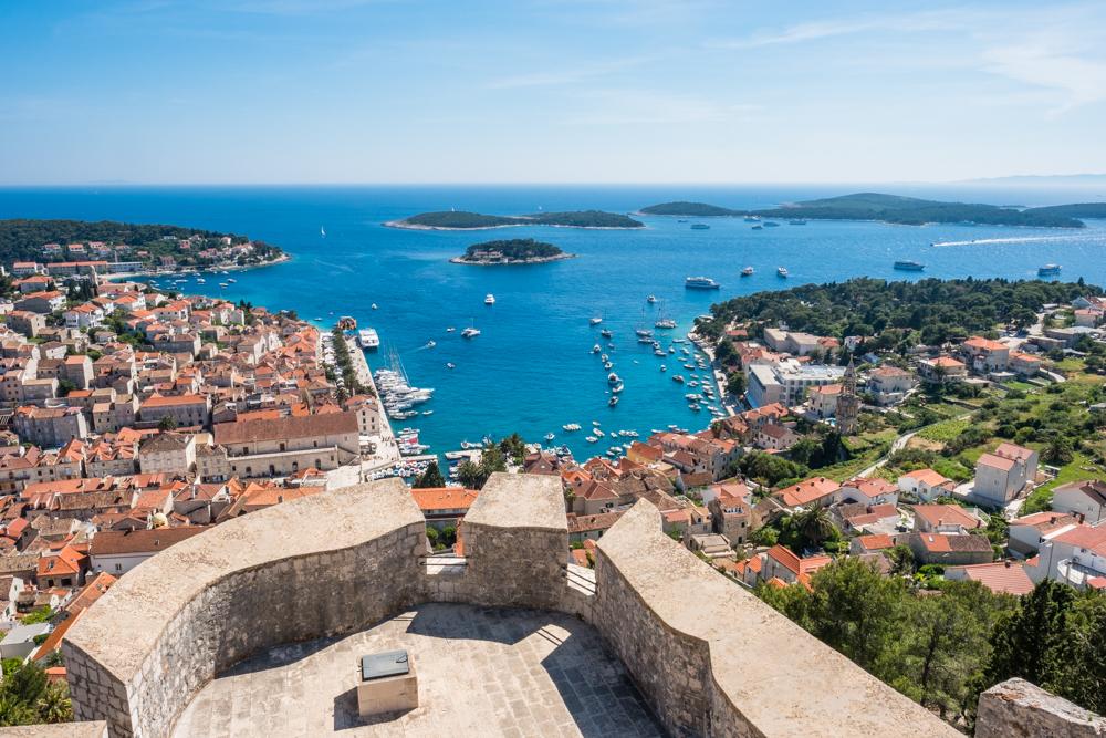 spanjola fortress hvar croatia