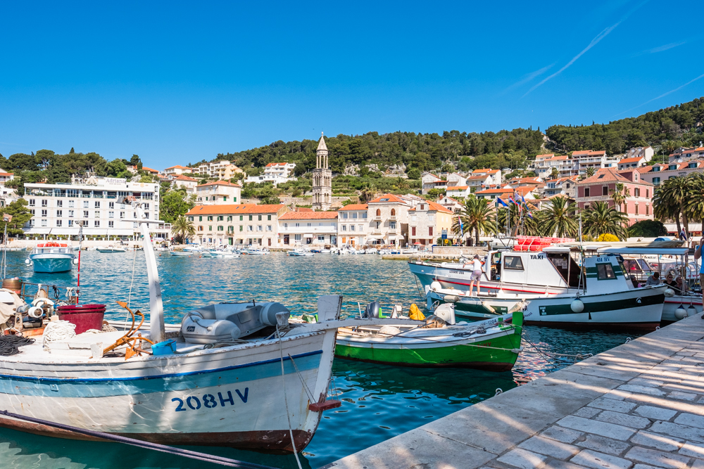 We arrived around 9am in Hvar, which gave us plenty of time to check-in to our apartment. The apartment was recommended over a regular hotel so that we could stay closer in the heart of the city. It was also much cheaper (around $60 USD/night in late May, pre-peak season).