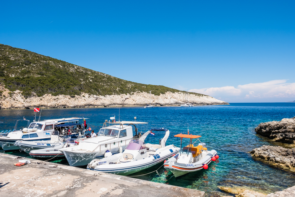 We headed back to our boat to continue our day trip to the island of Vis.