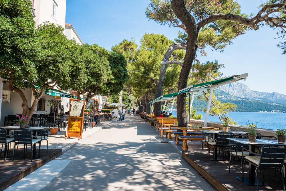 Walk around the outer perimeter of Old Town Korcula and you will see some of the best views you've ever seen. A perfect place to have lunch.