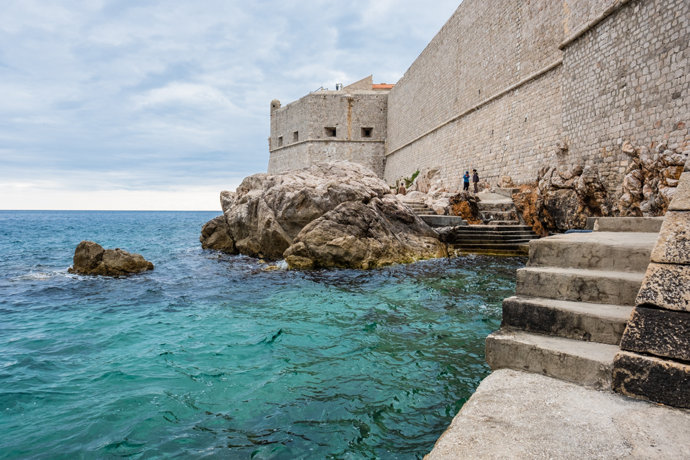 Exploring outside the city walls of Old Town Dubrovnik