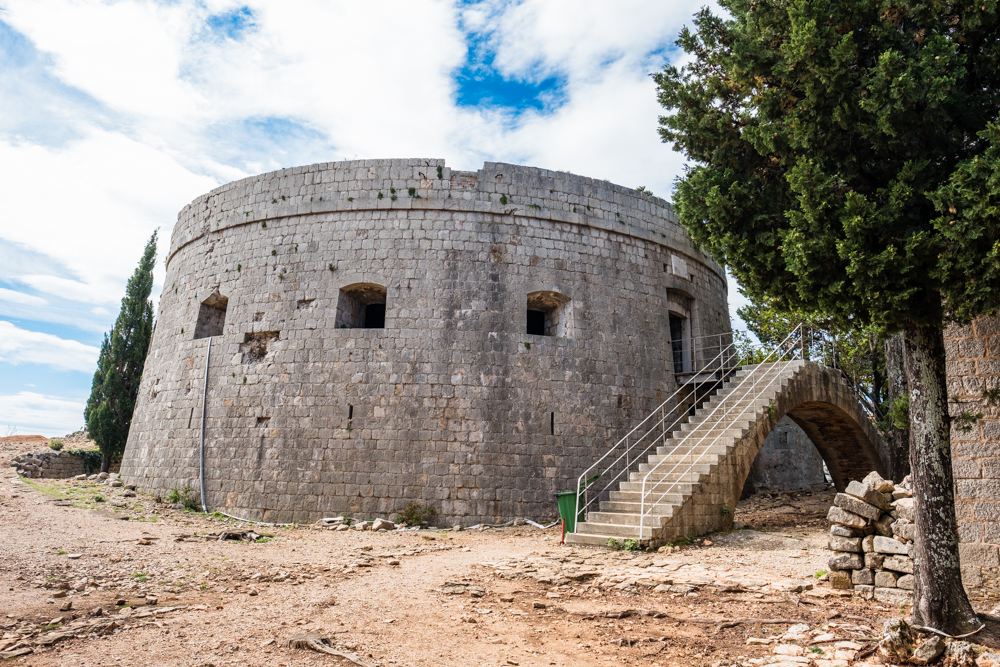 5.) Fort Royal  is the highest point on Lokrum. It was originally built by the French army in 1806 and eventually completed around 1835.