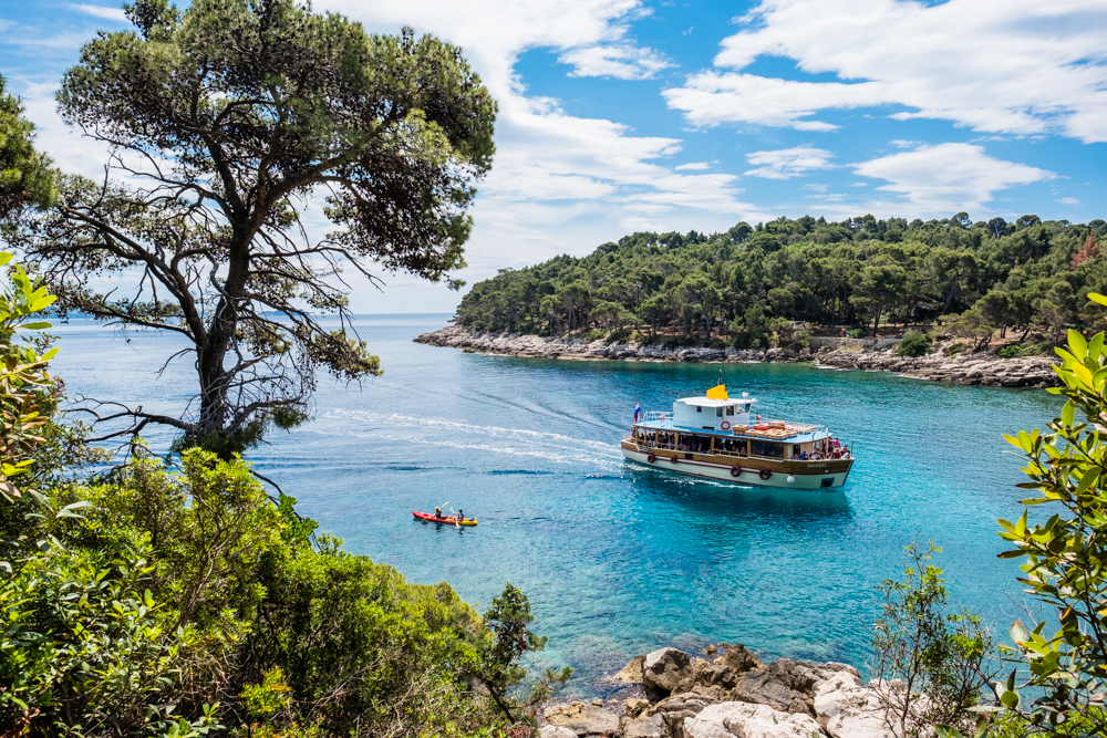 7.) Kayak around the Island.  Since Lokrum is so close to Dubrovnik, kayaking makes for another easy way of transporting yourself to/from the Island. Plus, with crystal clear waters, you're bound to encounter some interesting sea creatures.