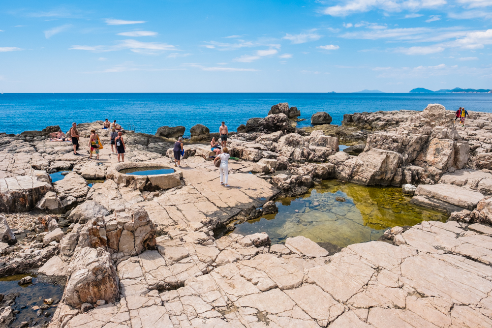 9.) Climb the Rock formations.  Lokrum is composed of limestone and dolomite rocks, which were deposited around 85 million years ago.
