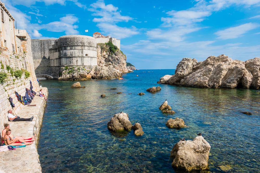 Fort Lovrijenac old town Dubrovnik Croatia