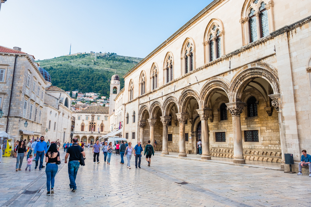 old town dubrovnik croatia rector's palace